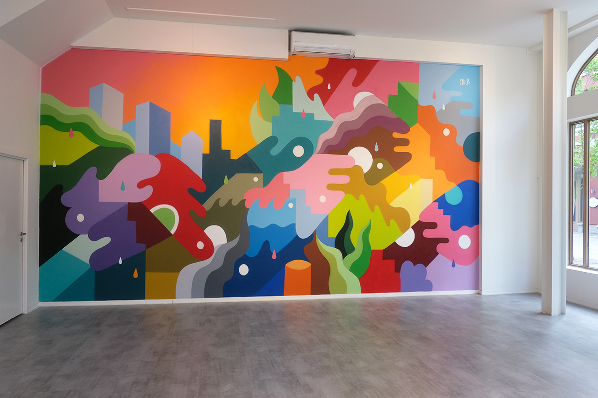 Painting A Mural On Wall Mycoffeepot Org